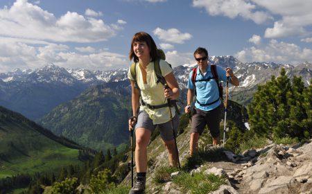 Wandern am Bergheim Unterjoch