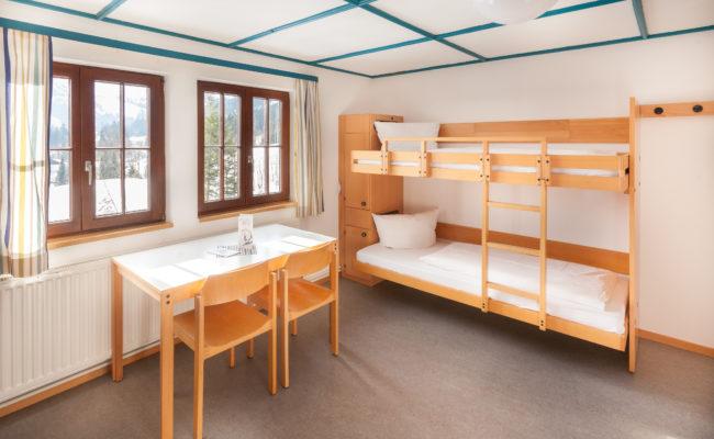 3-Bettzimmer im Bergheim Unterjoch
