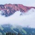 Panorama im Sommer um das Bergheim Unterjoch