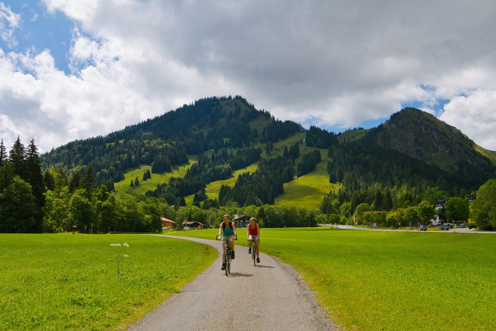 Radtour durchs Tal - Bergheim Unterjoch