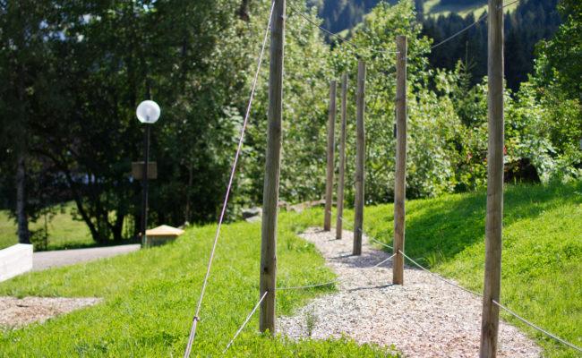 Niedrigseilparcours am Bergheim Unterjoch